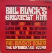 LP - Bill Black's Combo - Greatest Hits