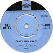 7'' - Bill Haley - Crazy Man Crazy