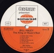 LP - Bill Haley - The King Of Rock'n Roll