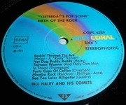 LP - Bill Haley - Yesterday's Pop Scene - Birth Of The Rock