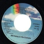 7'' - Bill Haley And His Comets - Haley's Golden Medley / A-B-C Boogie
