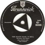 7'' - Bill Haley And His Comets - The Saints Rock 'N Roll