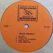 LP - Billie Holiday - Billie Holiday