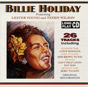 CD - Billy Holiday - Feat.Lester Young & Teddy Wils