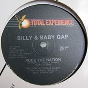 12'' - Billy And Baby Gap - Rock the Nation