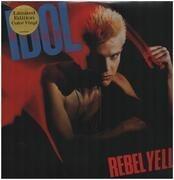 LP - Billy Idol - Rebel Yell - Coloured/Ltd