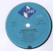 12inch Vinyl Single - Billy Ocean - European Queen (No More Love On The Run) - Different Center Labels