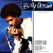 12inch Vinyl Single - Billy Ocean - European Queen (No More Love On The Run)