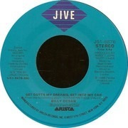 7inch Vinyl Single - Billy Ocean - Get Outta My Dreams, Get Into My Car