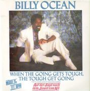 12inch Vinyl Single - Billy Ocean - When The Going Gets Tough, The Tough Get Going