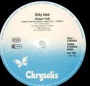 12'' - Billy Idol - Rebel Yell