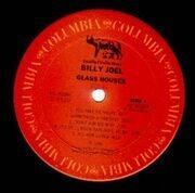 LP - Billy Joel - Glass Houses