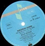 12'' - Billy Ocean - European Queen (No More Love On The Run) - Different Center Labels