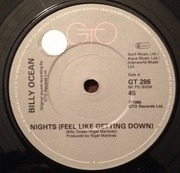 7'' - Billy Ocean - Nights (Feel Like Getting Down)