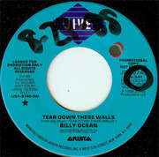 7'' - Billy Ocean - Tear Down These Walls