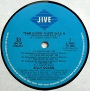LP - Billy Ocean - Tear Down These Walls