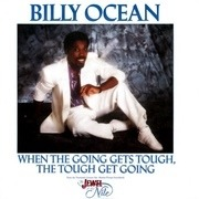 7inch Vinyl Single - Billy Ocean - When The Going Gets Tough, The Tough Get Going