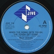 7'' - Billy Ocean - When The Going Gets Tough, The Tough Get Going