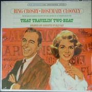 LP - Bing Crosby • Rosemary Clooney - That Travelin' Two-Beat
