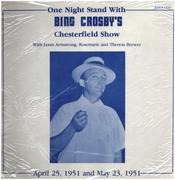 LP - Bing Crosby - One Night Stand With Bing Crosby's Chesterfield Show - Still Sealed, Rare