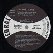 Double LP - Bing Crosby - The Best Of Bing - Trade Sample
