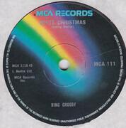 7inch Vinyl Single - Bing Crosby - White Christmas - Solid Centre