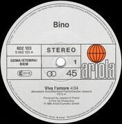 12inch Vinyl Single - Bino - Viva L'Amore