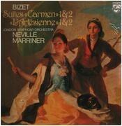 LP - Bizet - Carmen Suite No. 1, No. 2, LSO, Marriner