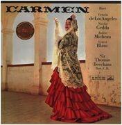 LP-Box - Bizet/ Victoria d eLos Angeles, Janine Micheau a.o. - Carmen - booklet with libretto