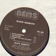 LP - Black Sabbath - Black Sabbath