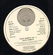 LP - Black Sabbath - Black Sabbath Vol 4 - AUSTRIA SWIRL