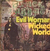 7inch Vinyl Single - Black Sabbath - Evil Woman / Wicked World