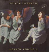 LP - Black Sabbath - Heaven And Hell - Original German