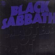 LP - Black Sabbath - Master Of Reality - German Vertigo Swirl + Poster
