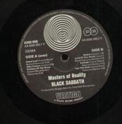 LP - Black Sabbath - Master Of Reality - ORIGINAL GERMAN SWIRL VERTIGO