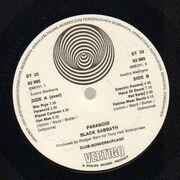 LP - Black Sabbath - Paranoid - Club-Sonderauflage