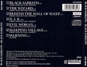 CD - Black Sabbath - Black Sabbath