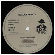 LP - Black Sabbath - Headless Cross - LTD. ED. + POSTER