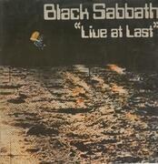 LP - Black Sabbath - Live At Last