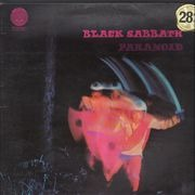 LP - Black Sabbath - Paranoid - original french