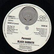 LP - Black Sabbath - Paranoid - Swirl Vertigo