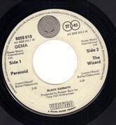 7inch Vinyl Single - Black Sabbath - Paranoid - Vertigo Swirl