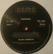 LP - Black Sabbath - Paranoid - still sealed