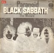 7inch Vinyl Single - Black Sabbath - Paranoid - Vertigo Swirl