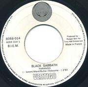 7inch Vinyl Single - Black Sabbath - Paranoid - Paper labels