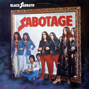 LP - Black Sabbath - Sabotage - ORIGINAL UK TEXTURED