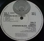 LP - Black Sabbath - Paranoid