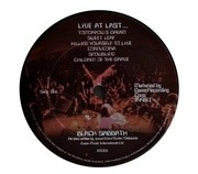 LP - Black Sabbath - Live At Last