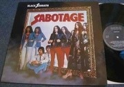 LP - Black Sabbath - Sabotage - IRISH PRESS