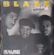12inch Vinyl Single - Blaze - We All Must Live Together